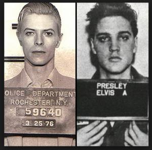 Elvis & Davis Mugshots