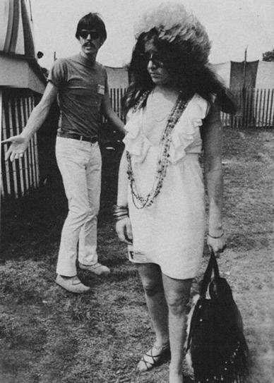 John Byrne Cooke & Janis Joplin