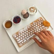 Keyboard Waffle - Nexon Computer Museum