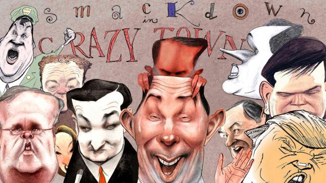 Illustration by Steve Brodner for The Nation