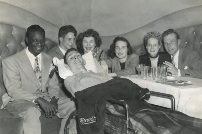 Gordon-pals-with-Nat-King-Cole-at-Trocadero-nightclub