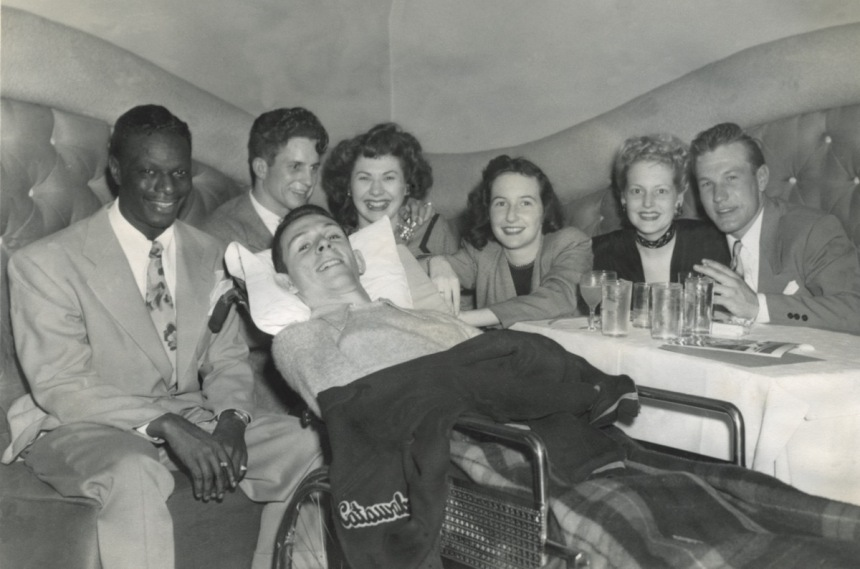 Gordon-pals-with-Nat-King-Cole-at-Trocadero-nightclub