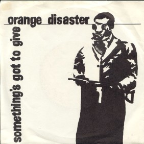 Orange Disaster sleeve